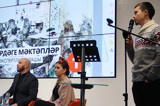 Айрат Файзрахманов (справа):«ИШайхразиев говорил отом, что нужно работать сродителями, иминистр образования Бурганов. Вот, высказали— мыработаем, где вы?»