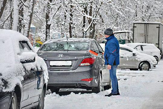 Первый снег вЧелнах: стресс-тест для дорожников иГИБДД