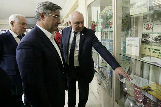 Сегодня вОбщественной палате РФцарило оживление— отмечали 20-летие Федеральной национально-культурной автономии татар (ФНКАТ)