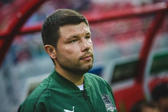 Мурад Мусаевполучил опыт всистеме «Краснодара» ирезко получил команду сочень хорошим составом иобученными футболистами