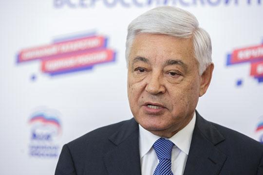 Фарид Мухаметшин«Улюбой политической партии есть убедительные победы, есть, конечно, поражения инедостатки»