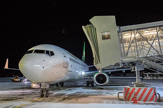 Чартерные рейсы «ИрАэро» встолицу провинции Хайнань город Хайкоу изказанского аэропорта были открыты всередине октября