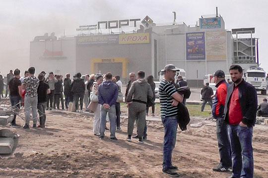 Вчисле трагических позиций стоит «пожар вТЦ«Зимняя вишня» (№3), зато вграницах Татарстана всети чаще искали события позапросу «Пожар вТЦ«Порт»