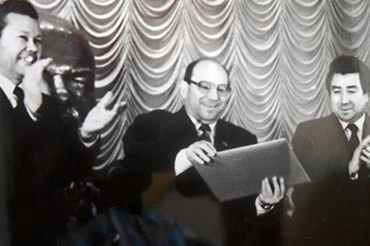 Гумер Усманов, Раис Беляев, Ринат Гилязов (слева направо)