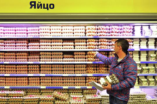 Новогодний яйцекартель: в«Пятерочке» цены подняли на79%, в«Магните»– на64%?