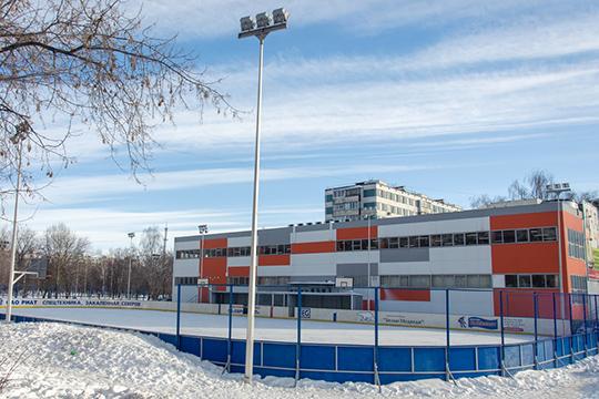 Вдвухэтажном здании, построенном рядом схоккейной коробкой, клуб делил площади сдетской хоккейной командой «Белые Медведи»