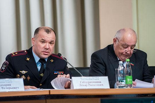 Начальник УГИБДД Ленар Габдурахманов подчеркнул удовлетворительную динамику аварийности в 2018 году