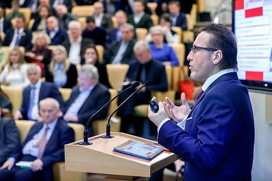 Исследования Евгения Минченко натолкнули организаторов напопытку завязать серьезный разговор отом, куда должна двигаться российская партийная система