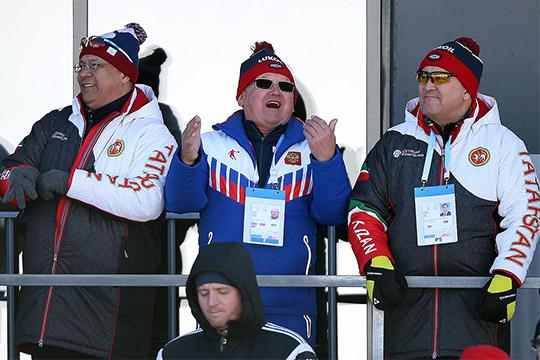 Эдуард Галеев и Ильшат Фардиев (справа)