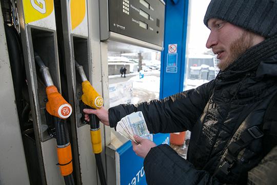 Если сянваря поноябрь 2018 года бензин вроссийской рознице подорожал на9%, адизельное топливо— на10,3%, тосначала текущего года, всреднем поРФ, цены выросли на0,4–1,1%