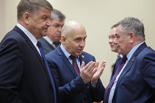 Охотники республики написали обращение к Рустаму Минниханову и Федору Баткову (в центре)— они предлагают начинать охоту напернатых нанеделю раньше установленного срока