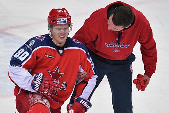 Несмотря навсе невзгоды,Никита Квартальновсмог вернуться впрофессиональный хоккей