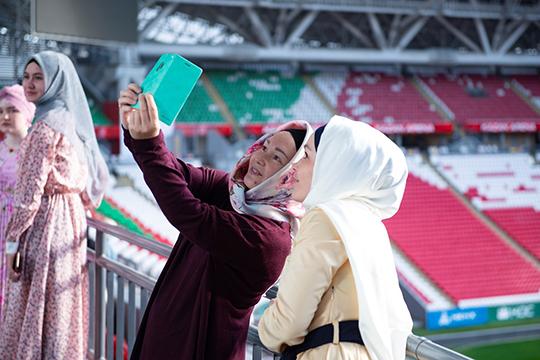 Среди участниц гостей были и гости из других регионов России