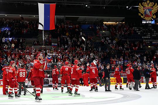 Самый звёздный состав сборной России в современной истории завоевал лишь бронзовые медали чемпионате мира