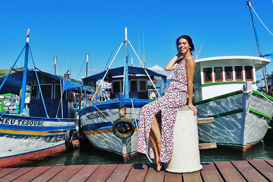 Лилия Равилова всвоих путешествиях посамой большой стране Южной Америки добралась до Рио-де-Жанейро