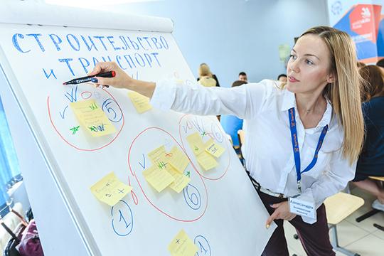Представители рабочей группы «Строительство и транспорт» также подняли вопрос кадров — ежедневно в Казань на работу едут из Зеленодольска 12-18 тысяч человек
