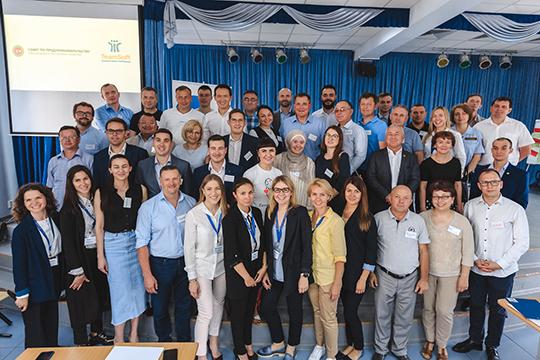 После завершения презентация, Александр Тыгин поблагодарил участников мероприятия