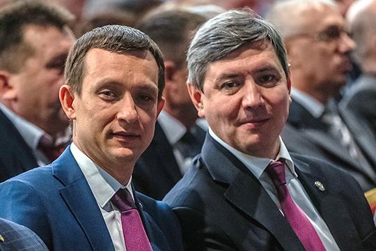 Сферу влияния министра связи РТ Романа Шайхутдинова (слева) ограничили Иннополисом, но наделили статусом вице-премьера по цифровой экономике. Его портфель получил Айрат Хайруллин