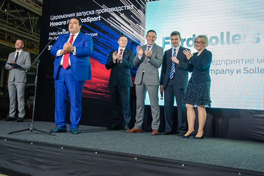Проект отечественных представительских автомобилей под брендом Aurus полностью отдан на откуп гендиректору СП Ford Sollers Адилю Ширинову