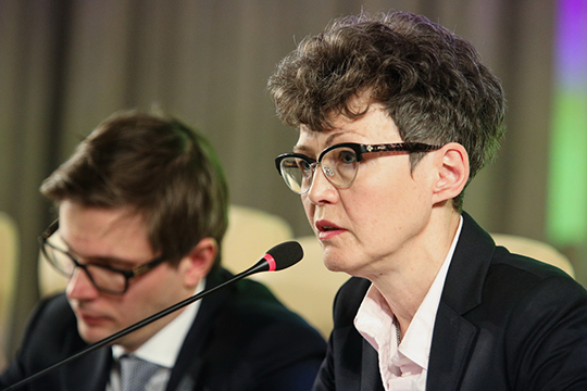 Ирина Карповарассказала, что насегодня вперечень банков, которым позволено работать сосредствами дольщиков, включены95 кредитных организаций