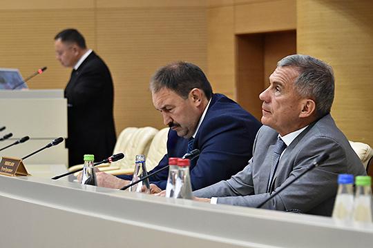 «Сверку часов» послучаю начала эпохи проектного финансирования накануне провел Рустам Минниханов