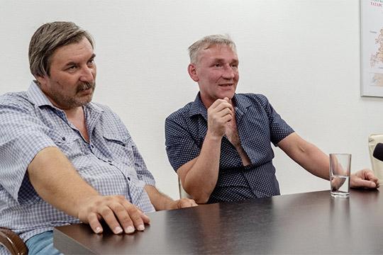 Юрий Шарипов (слева)иВладимир Водолазов