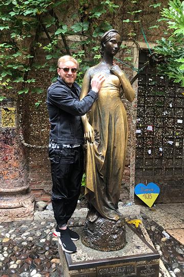 Комо— Милан— Верона Григорий посетил одним днем