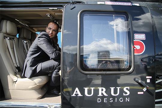 На МАКСе-2019 продемонстрировали «Ансат» под брендом Aurus
