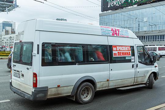 Вгороде появились новые автобусы— нечто среднее между «пазиками» и«газелькой»