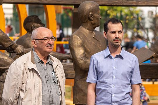 Зам главного архитектора Казани Тимур Кадыров (справа) заявил, что город строит очень большие планы на Адмиралтейскую слободу