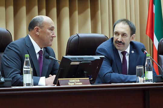 Алексей Песошин в своем спиче отметил большой вклад Марата Ахметова в развитие сельского хозяйства республики