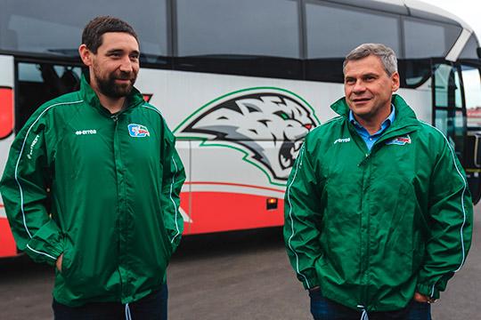 Смена главного тренера помогла «АкБарсу» сохранить Зарипова (справа -Дмитрий Квартальнов)