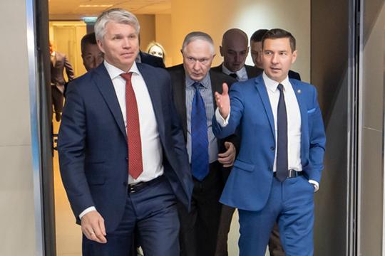 Министр спорта РФвКазани: заявка наСуперкубок УЕФА сформирована