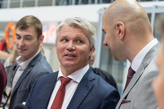 Сегодня завершился первый за 2019-й год визит Павла Колобкова в Казани