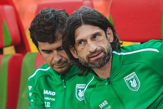 Роман Шаронов, который формально занимает в футбольном клубе«Рубин» должность помощника Эдуардо Докампо, подвел итог четырех месяцев своей работы тренером