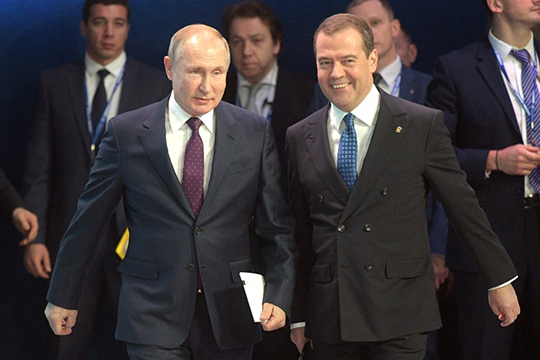 «Нам дороже всего: это суверенитет России, еёнациональные интересы, территориальная целостность. Это, конечно, впервую очередь благополучие людей иширокие возможности для самореализации человека»