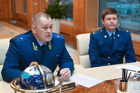 Вениамин Селифановпредставил нового руководителяказанской межрайонной природоохранной прокуратурыпрезидентуТатарстана
