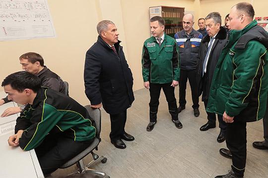 Рустам Минниханов: «Нефтяники моглибы вырасти больше, ноесть ограничения подобыче»