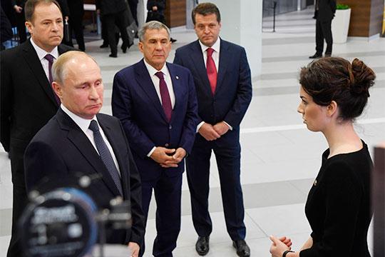 За год Путин успел побывать в Татарстане четыре раза, но в наш Топ-30 попали только три его визита