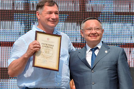 «Какая «татарская партия», очем выговорите?!»: Хуснуллин решил опереться наФайзуллина