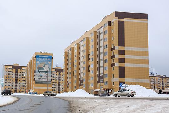 Всего на территории поселения 101 жилой дом, при этом продолжается активное строительство второй очереди ЖК «Радужный», где сегодня уже проживает 7 тыс. человек