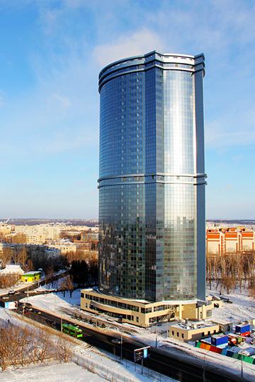 «Значительная часть первого небоскреба Казани «Лазурные небеса», который состоит из37 этажей, была построена избетона сприменением химдобавок Sika»