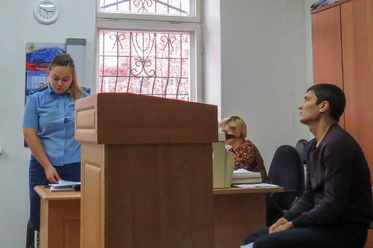 Аида Шайдуллинапопросила для Кулиева назначить условный срок в2,5 года условно и4 года сиспытательным сроком, аКовшову 2 года условно и2 года испытательного срока