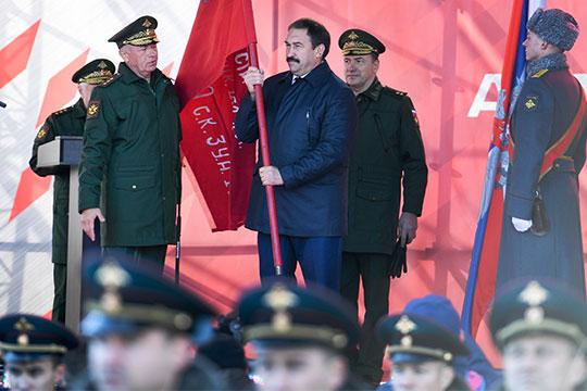 «Чаша» встиле милитари: как вцентре Казани «пиарили» Российскую армию