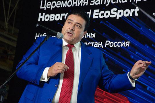 Адиль Ширинов(6)— президент «Форд Соллерс Холдинг» находится впервой десяткевсилу размера компании, которую онвозглавляет