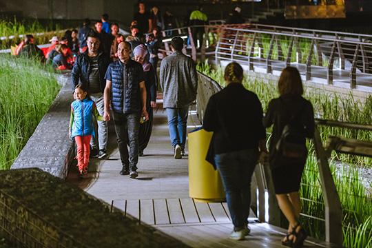 «Комфортность городской среды напрямую связана ссамочувствием наших людей, это было видно невооруженным взглядом нановой набережной Кабана этим летом»