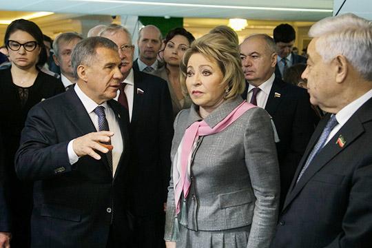 Матвиенко – Минниханову: «Ваш гусь во всех видах, только пирожных с ним не видела!»