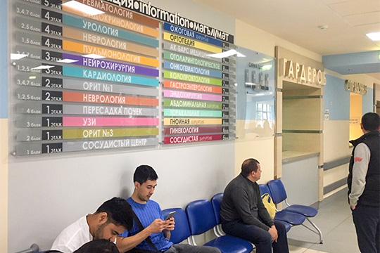 «Сейчас внедряются стандарты «дружелюбной поликлиники», веерамках более чем насорока объектах мыуже поработали»