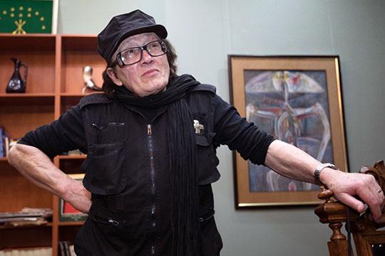 Михаил Шемякин: «Яработал над символом Казани. Предполагался огромный барс-сфинкс!»