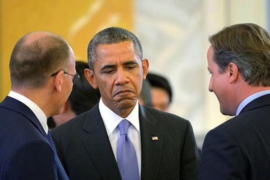 В 2008-м кандидат впрезиденты СШАБарак Обамавышел спредвыборным лозунгом: Yes, wecan/Да, мыможем
